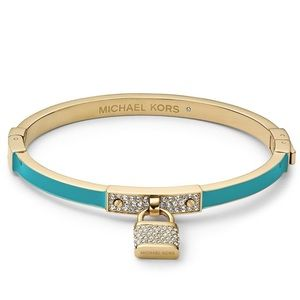 Michael Kors Turquoise Padlock Bracelet